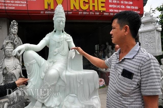 Yên Bái: Cả làng thành triệu phú, tỷ phú với nghề ...lách cách thành tượng - 2