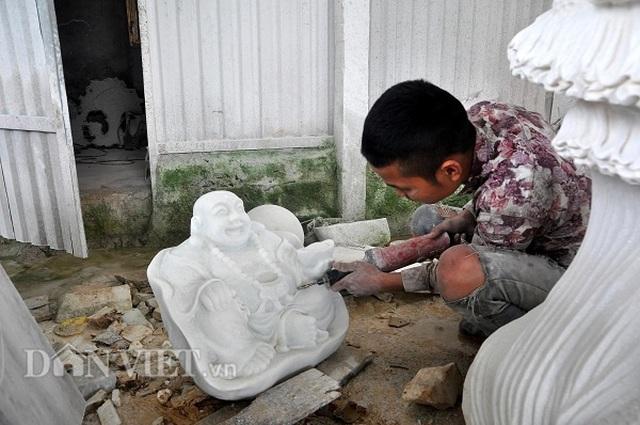 Yên Bái: Cả làng thành triệu phú, tỷ phú với nghề ...lách cách thành tượng - 3