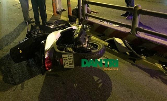 Lại tai nạn chết người vì lao vào dải phân cách trên cao tốc TPHCM - Long Thành - Dầu Giây - 1