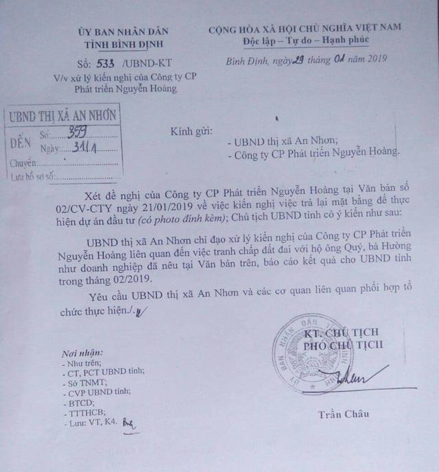 Thực hư việc doanh nghiệp xây dựng nhà xưởng trên đất của dân ở Bình Định! - 2