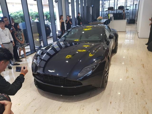 Thương hiệu Aston Martin chính thức có mặt tại Việt Nam - 1