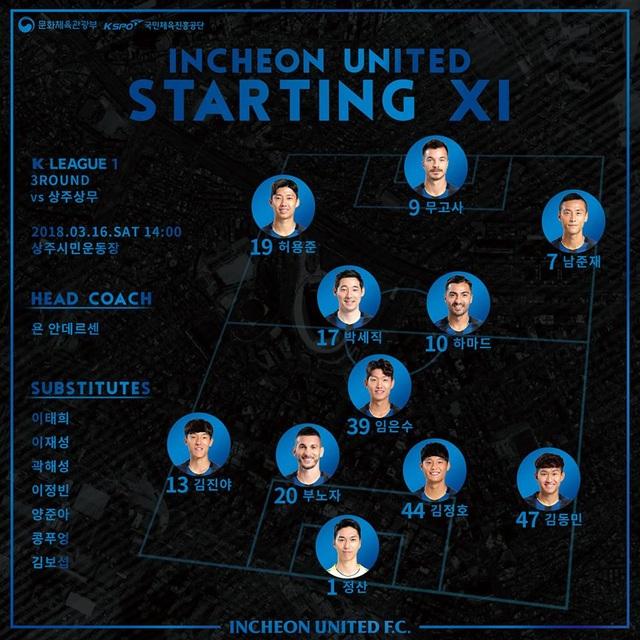 Công Phượng vào sân, Incheon United vẫn hứng chịu thất bại - 2