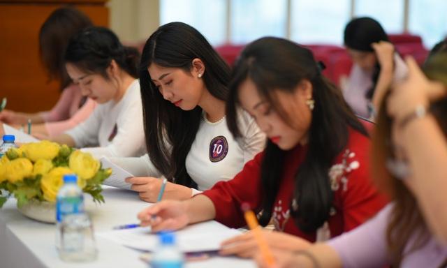 Rạng rỡ nhan sắc thí sinh tham dự cuộc thi Đại sứ Thiện chí Hoa Anh Đào 2019 - 5