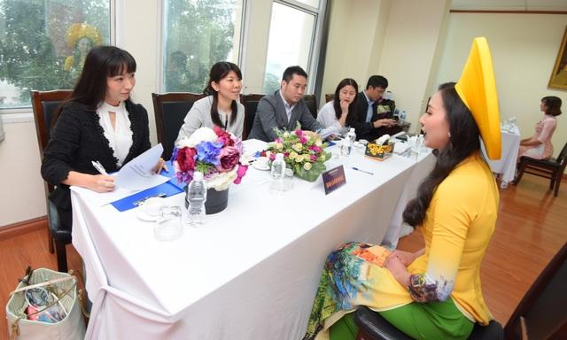 Rạng rỡ nhan sắc thí sinh tham dự cuộc thi Đại sứ Thiện chí Hoa Anh Đào 2019 - 8