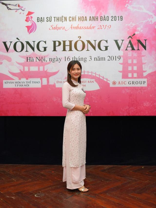 Rạng rỡ nhan sắc thí sinh tham dự cuộc thi Đại sứ Thiện chí Hoa Anh Đào 2019 - 12