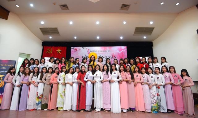 Rạng rỡ nhan sắc thí sinh tham dự cuộc thi Đại sứ Thiện chí Hoa Anh Đào 2019 - 3