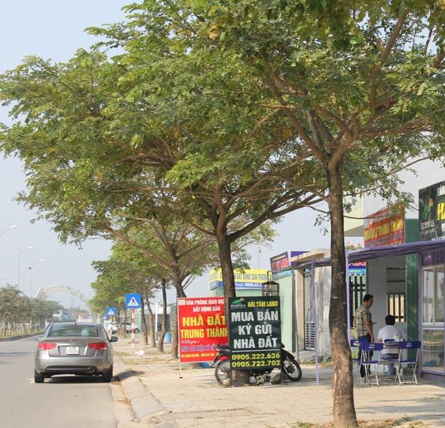 Đà Nẵng: Buộc tháo dỡ các ki-ốt kinh doanh bất động sản trái phép - 1