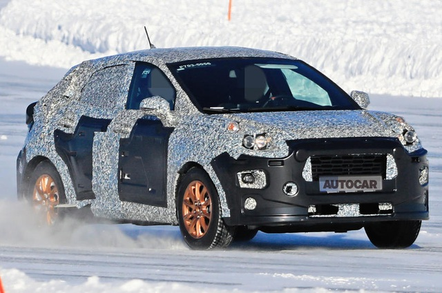 Ford gấp rút chạy thử mẫu miniSUV thay thế EcoSport - 1