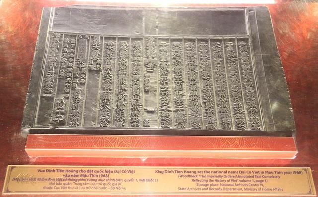 Quốc hiệu và kinh đô nước Việt trong mộc bản Triều Nguyễn - 8