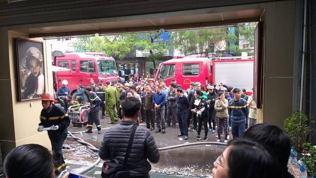 Cháy lớn tại khách sạn ở Hải Phòng, một người tử vong - 2