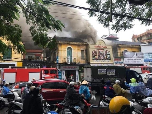 Cháy lớn tại khách sạn ở Hải Phòng, một người tử vong - 4