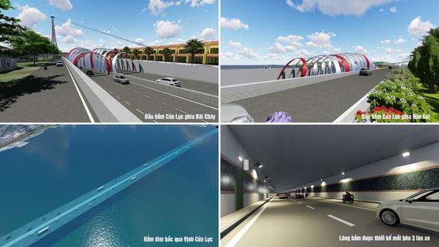 Quảng Ninh xây hầm đường bộ vượt biển lớn nhất Việt Nam - 1