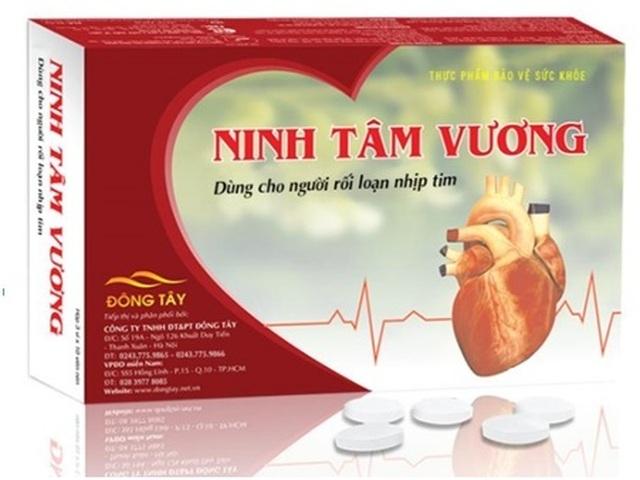 Ninh Tâm Vương-hỗ trợ giảm hồi hộp, trống ngực ở người rối loạn nhịp tim - 2