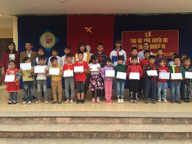 150 suất học bổng Grobest Việt Nam đến với học sinh nghèo tỉnh Quảng Ninh - 1
