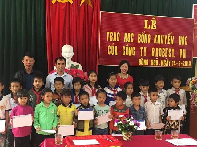 150 suất học bổng Grobest Việt Nam đến với học sinh nghèo tỉnh Quảng Ninh - 3