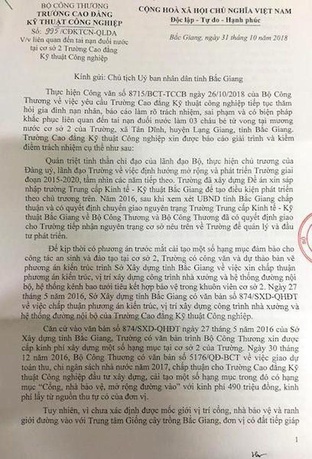 Vụ 3 cháu bé chết oan ức ở Bắc Giang: Công an kết luận thế, tìm công lý ở đâu? - 2