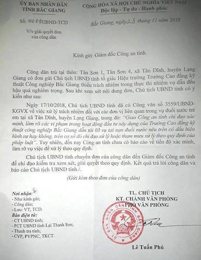 Vụ 3 cháu bé chết oan ức ở Bắc Giang: Công an kết luận thế, tìm công lý ở đâu? - 1