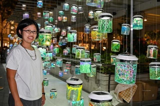 Người Hà Nội hào hứng cùng nghệ sĩ Singapore tạo Rainbow Connection - 5