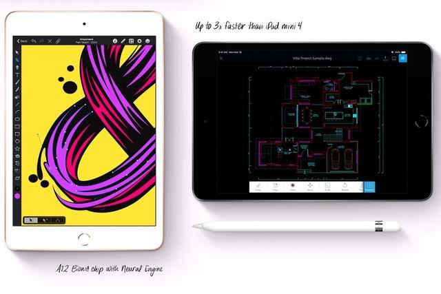 Ra mắt iPad mini phiên bản mới có cấu hình mạnh mẽ hơn, hỗ trợ Apple Pencil - 1