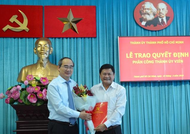 Ông Huỳnh Cách Mạng giữ chức Phó Trưởng Ban Tổ chức Thành ủy TPHCM - 1