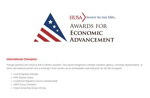 Vượt qua hàng ngàn đại lý USIS Group lọt Top 5 công ty tư vấn đầu tư định cư tốt nhất thế giới  - 1