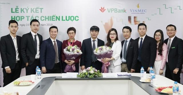 VPBank hợp tác Vinmec triển khai chương trình cấp tín dụng cho khách hàng cá nhân - 1