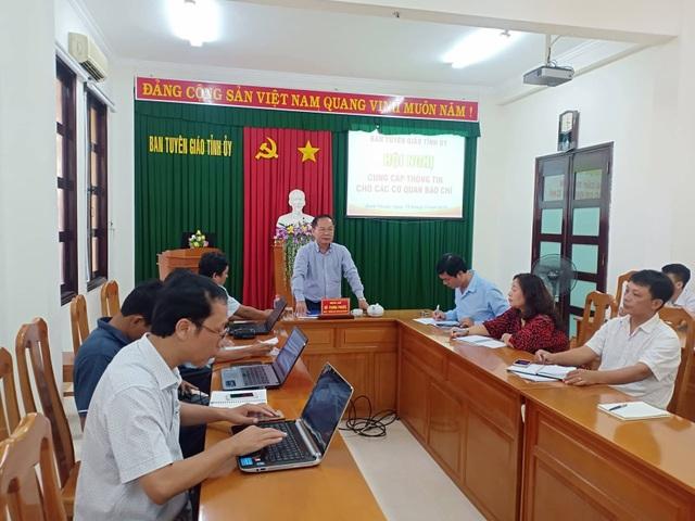 ông Hồ Trung Phước - Trưởng Ban Tuyên giáo Tỉnh ủy Bình Thuận