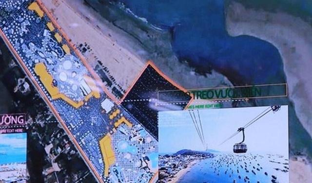 Nghệ An xây dựng hệ thống cáp treo vượt biển dài 3,5 km - 2