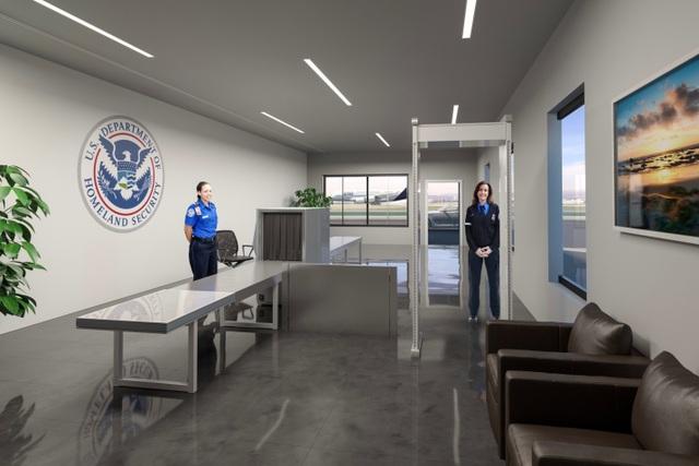 Có gì bên trong nhà ga sân bay dành cho giới siêu giàu ở Mỹ? - 3