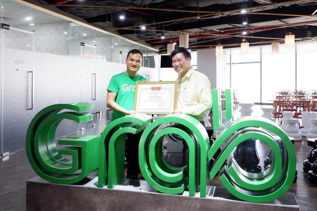 Grab được bằng khen từ Quỹ Bảo trợ Trẻ em Việt Nam - 1