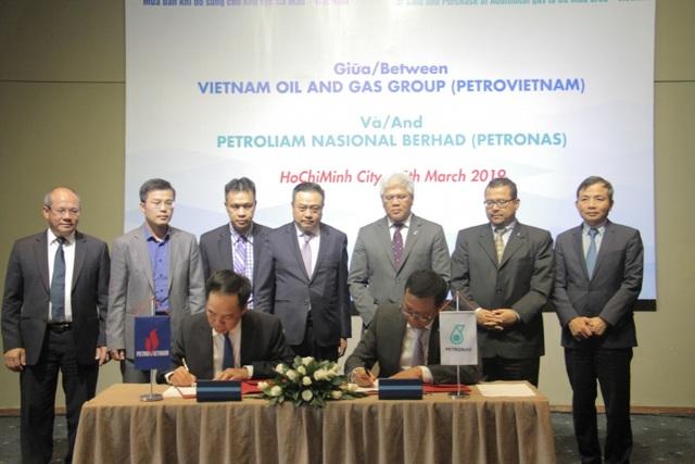 Ký thỏa thuận khung mua bán khí giữa PVN và Petronas - 1