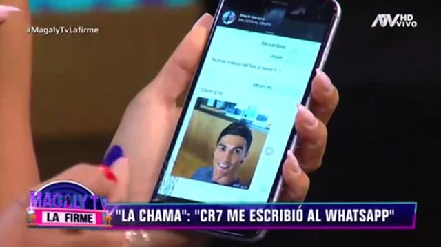 """Lộ tin nhắn C.Ronaldo """"gạ tình"""" trắng trợn mỹ nữ bốc lửa - 2"""