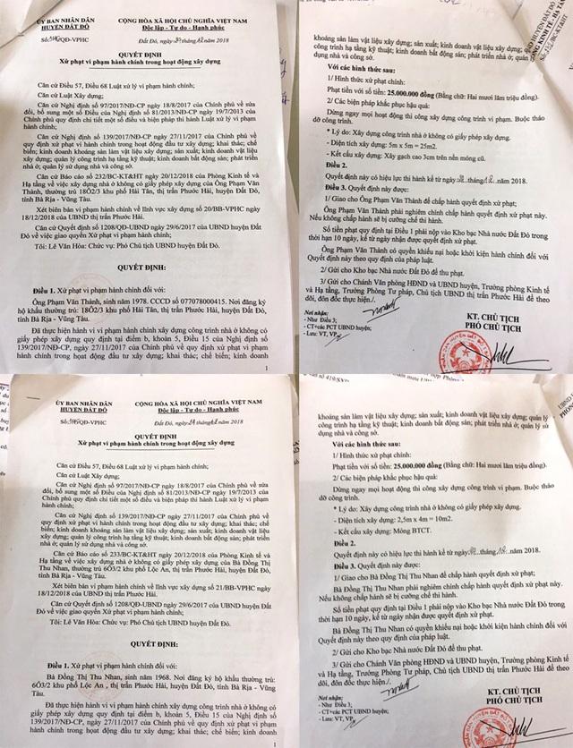 Ồ ạt xây nhà chiếm đường ven biển tại Bà Rịa - Vũng Tàu : Phạt cứ phạt, xây vẫn cứ xây! - 1