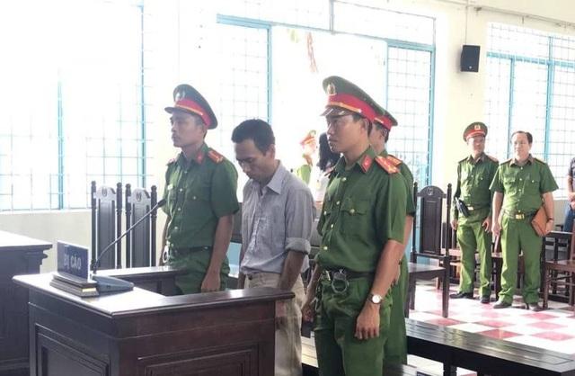 Lê Minh Thể tại phiên xét xử hôm nay (20/2)