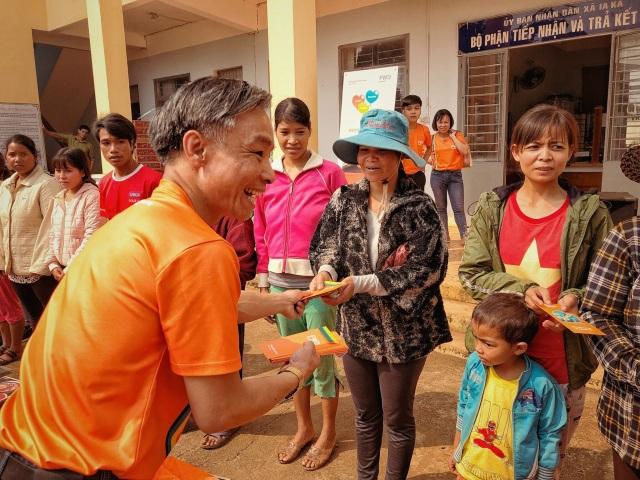 FWD hỗ trợ 300 gia đình khó khăn tại Tây Nguyên - 2