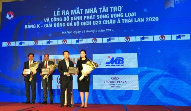 MB tài trợ các trận đấu bảng K vòng loại U23 Châu Á 2020 - 1
