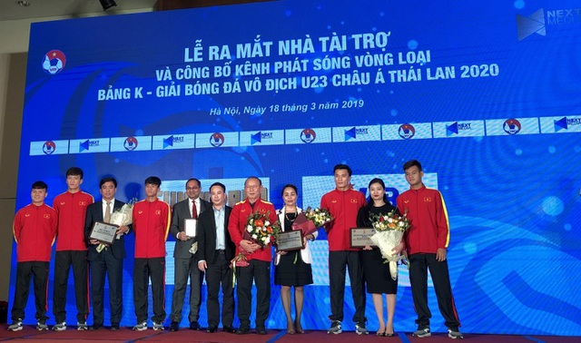 MB tài trợ các trận đấu bảng K vòng loại U23 Châu Á 2020 - 2