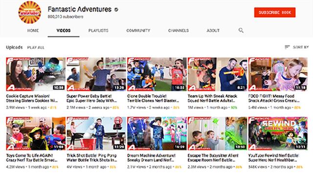 Chủ kênh Youtube nổi tiếng hành hạ trẻ em để kiếm hàng triệu USD - 2