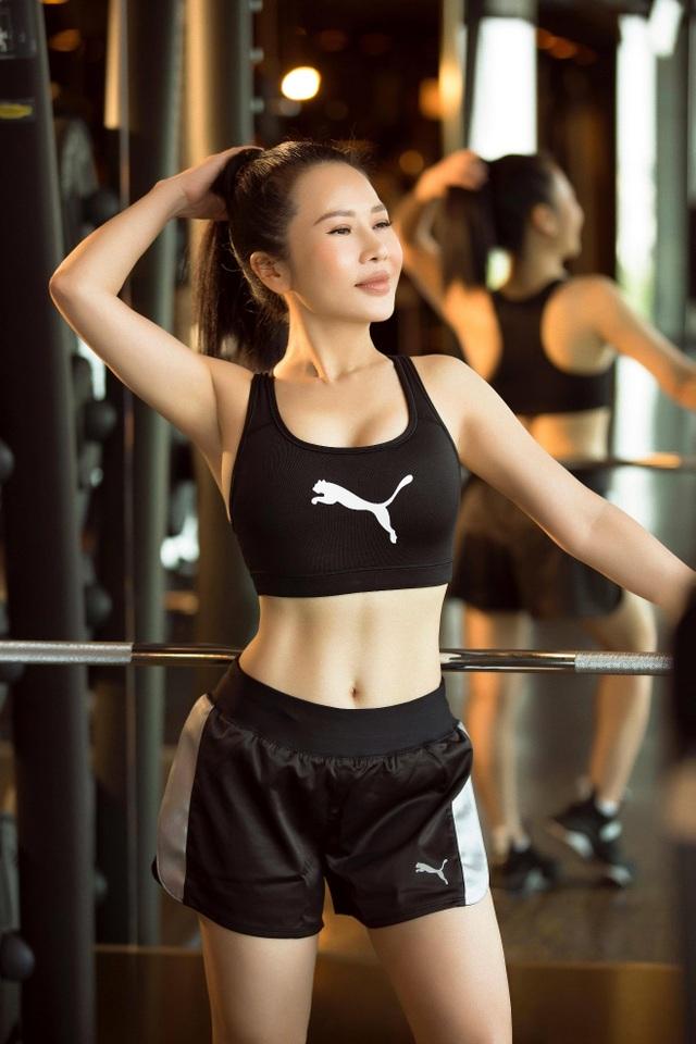 Hoa khôi Doanh nhân Lan Phương khoe dáng chuẩn trong phòng gym.docx.jpeg