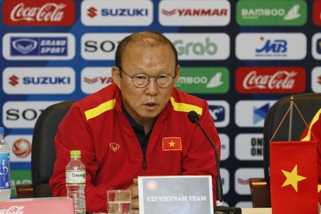 """HLV Park Hang Seo: """"U23 Việt Nam đang đối mặt nhiều áp lực"""" - 1"""