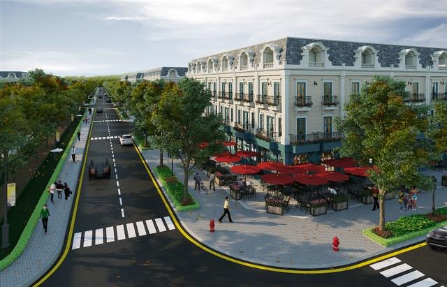 Hé lộ chủ đầu tư dự án nhà phố thương mại đầu tiên tại Uông Bí - 1