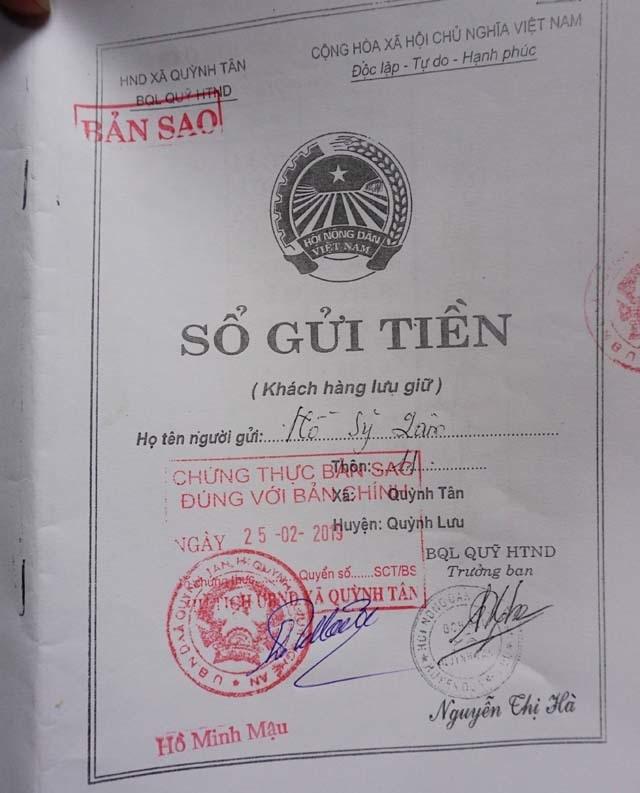 Nghệ An: Hàng chục hộ dân gửi tiền vào Quỹ hỗ trợ nông dân xã rồi… mỏi mòn đi đòi! - 2