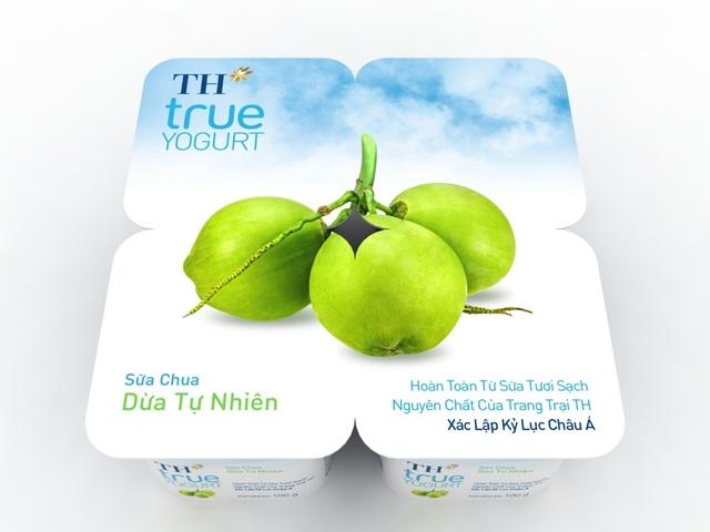 Sữa chua Dừa Tự Nhiên TH true yogurt: Khác biệt và độc đáo - 1