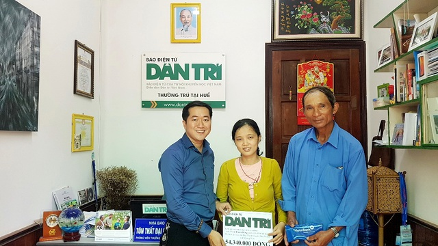 Trao hơn 54 triệu đến gia đình anh Phan Thanh Dũng - 1