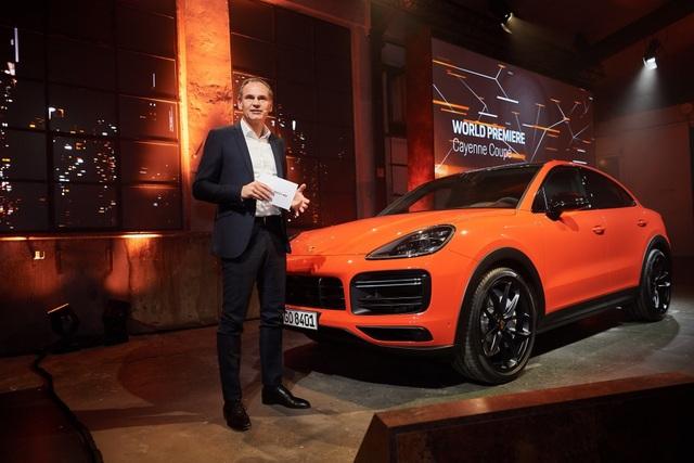 Porsche Cayenne Coupe chính thức trình làng - 1