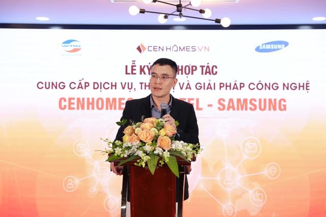 Hai ông lớn Viettel và Samsung bắt tay hợp tác với website BĐS Cenhomes.vn 1.jpg