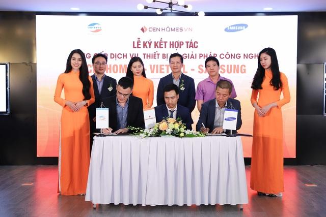 Hai ông lớn Viettel và Samsung bắt tay hợp tác với website BĐS Cenhomes.vn 3.jpg