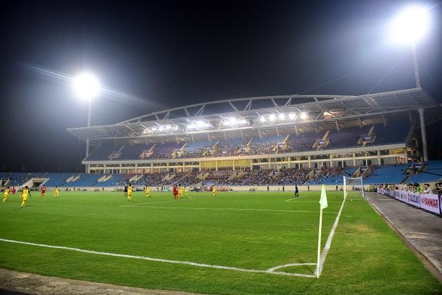 Sân Mỹ Đình vắng khán giả trong ngày U23 Việt Nam thắng U23 Brunei - 1