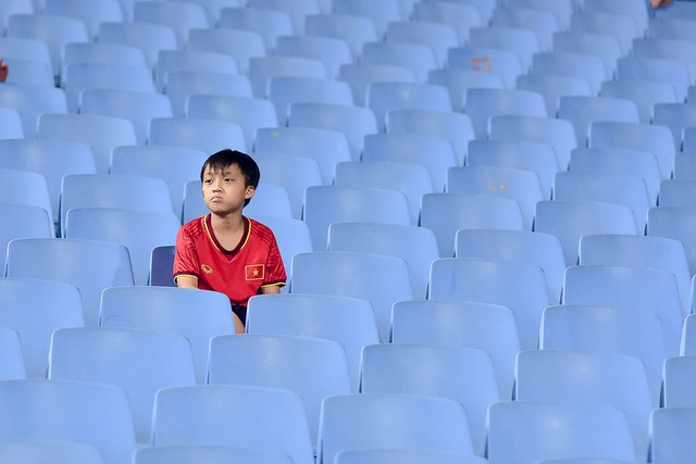 Sân Mỹ Đình vắng khán giả trong ngày U23 Việt Nam thắng U23 Brunei - 3