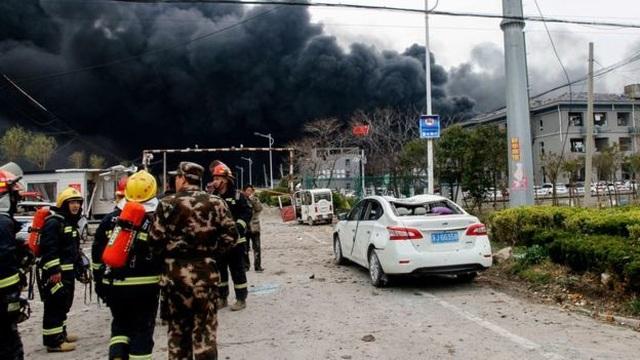 Nổ nhà máy hóa học ở Trung Quốc, 44 người thiệt mạng - 1